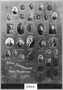 SLŠ - rok ukončení 1913