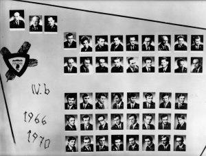 SLŠ - rok ukončení 1970 třída B