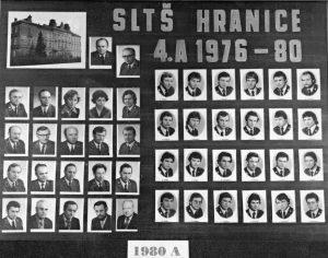 SLŠ - rok ukončení 1980 třída A