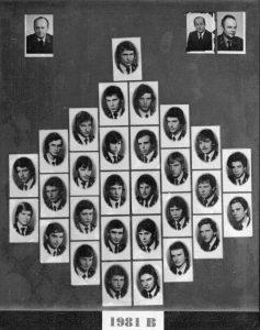 SLŠ - rok ukončení 1981 třída B