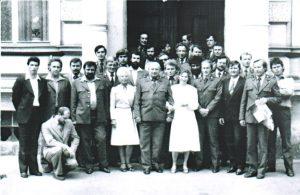 SLŠ - rok ukončení 1984 třída ds