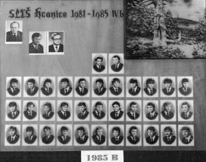 SLŠ - rok ukončení 1985 třída B