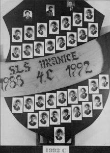 SLŠ - rok ukončení 1992 třída C