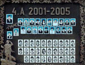 SLŠ - rok ukončení 2005 třída A